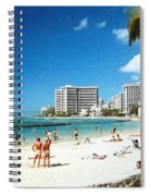 Waikiki Beach Spiral Notebook