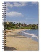 Wailea Beach Spiral Notebook