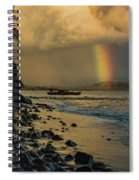 Waimanalo Rainbow Spiral Notebook