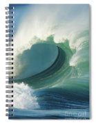 Waimea Bay Shorebreak Spiral Notebook