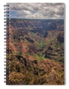 Waimea Canyon 7 - Kauai Hawaii Spiral Notebook