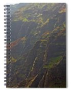 Waimea Canyon On A Misty Day In Kauai Spiral Notebook