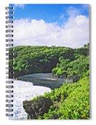 Wainapanapa State Park Spiral Notebook