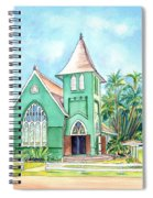Wai'oli Hui'ia Church Spiral Notebook