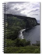 Waipio Bay Spiral Notebook