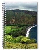Waipio Valley Spiral Notebook