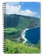 Waipio Valley Lookou Spiral Notebook