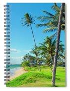 Waipuilani Beach Kihei Maui Hawaii Spiral Notebook