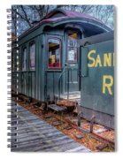 Waiting At The Station Spiral Notebook