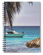 Waiting Boat Spiral Notebook