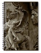 Waiting For Alexander - Heroes And Gods - Brown  Spiral Notebook