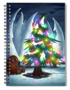 Waiting For Christmas Spiral Notebook