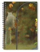 Waiting For Friends Spiral Notebook