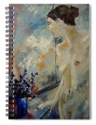 Waiting For Her  Lover Spiral Notebook