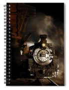Waiting For More Coal Spiral Notebook