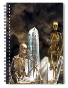 Waiting For The Carpathia Spiral Notebook