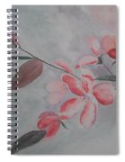 Waiting For The Spring Spiral Notebook
