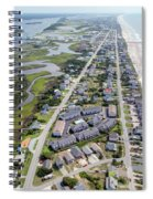 Waiting For You Topsail Island Spiral Notebook
