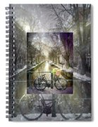 Waiting In The Snow Spiral Notebook