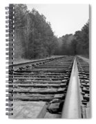 Waiting On The Train Spiral Notebook