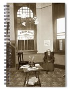 Waiting Room Of Dr. C. H. Pearce, D.d.s. Dentist, Watsonville,  Spiral Notebook