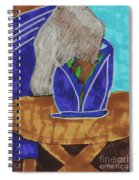 Waiting To Go Out Spiral Notebook