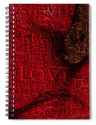 Waiting With Love Spiral Notebook