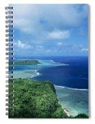 Wakaya Coastline Spiral Notebook