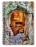 Wake Up And Smell The Misery Spiral Notebook