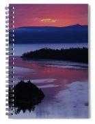 Wake Up In Lake Tahoe  Spiral Notebook