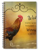 Wake Up Spiral Notebook