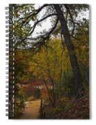 Walden Pond Path Into The Forest 2 Spiral Notebook