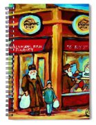 Waldmans In Montreal Spiral Notebook