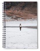 Walk At The Beach  Spiral Notebook