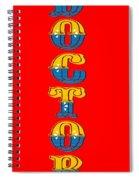 Walk In Doctor Spiral Notebook