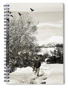 Walk In The Park Spiral Notebook