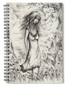 Walk In The Whispers Spiral Notebook