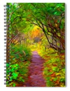 Walk In The Woods Spiral Notebook