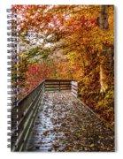 Walk Into Autumn Spiral Notebook