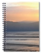Walk On The Beach Spiral Notebook