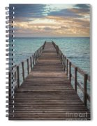 Walk On The Water Spiral Notebook