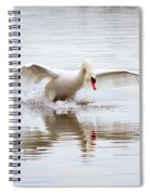 Walk On Water Spiral Notebook