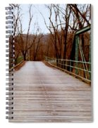 The Old Walk-or-ride Bridge Spiral Notebook