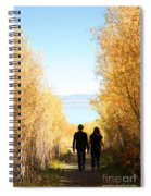 Walk To Mono Lake Spiral Notebook