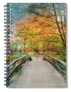 Walk To The Lake In Watercolors Spiral Notebook