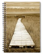 Walk With Me 1 Spiral Notebook