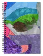 A Foggy Early Morning Walk Spiral Notebook