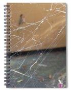 Walkin In A Spider Web Spiral Notebook