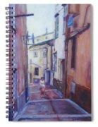 Walking Around Menton France Spiral Notebook