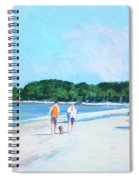 Walking Down The Isle Spiral Notebook